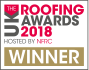UK Roofing Awards Winner 2018