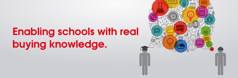 Enabling schools with real buying knowledge