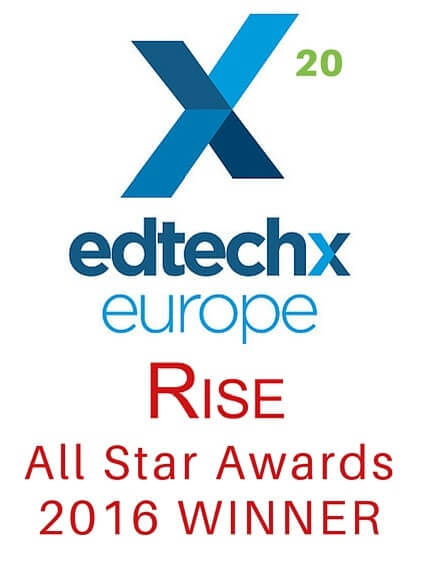 EdtechX Europe 2016 - EdtechXRise All Stars (Winner)